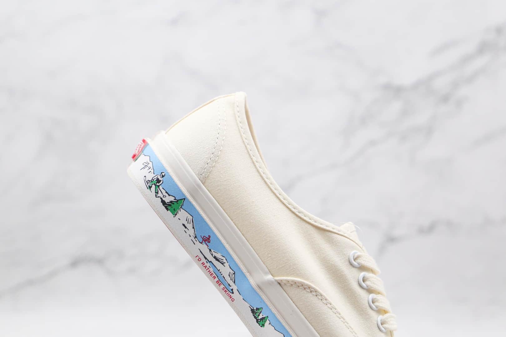 万斯Vans Authentic 44 DX公司级版本低帮安纳海姆滑雪涂鸦硫化板鞋原厂硫化大底