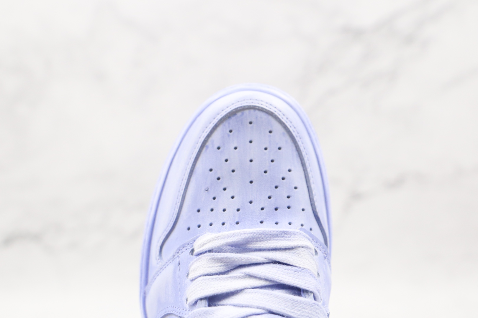 乔丹Air Jordan 1 Artificial brush color纯原版本高帮AJ1淡紫色人工擦色板鞋原楦头纸板打造 货号:BQ6817-204