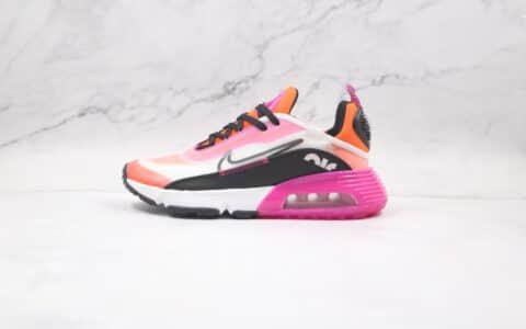 耐克Nike Air Max 2090纯原版本落日配色橘黑紫Max2090气垫鞋原盒原标原档案数据开发 货号:CK2612-500