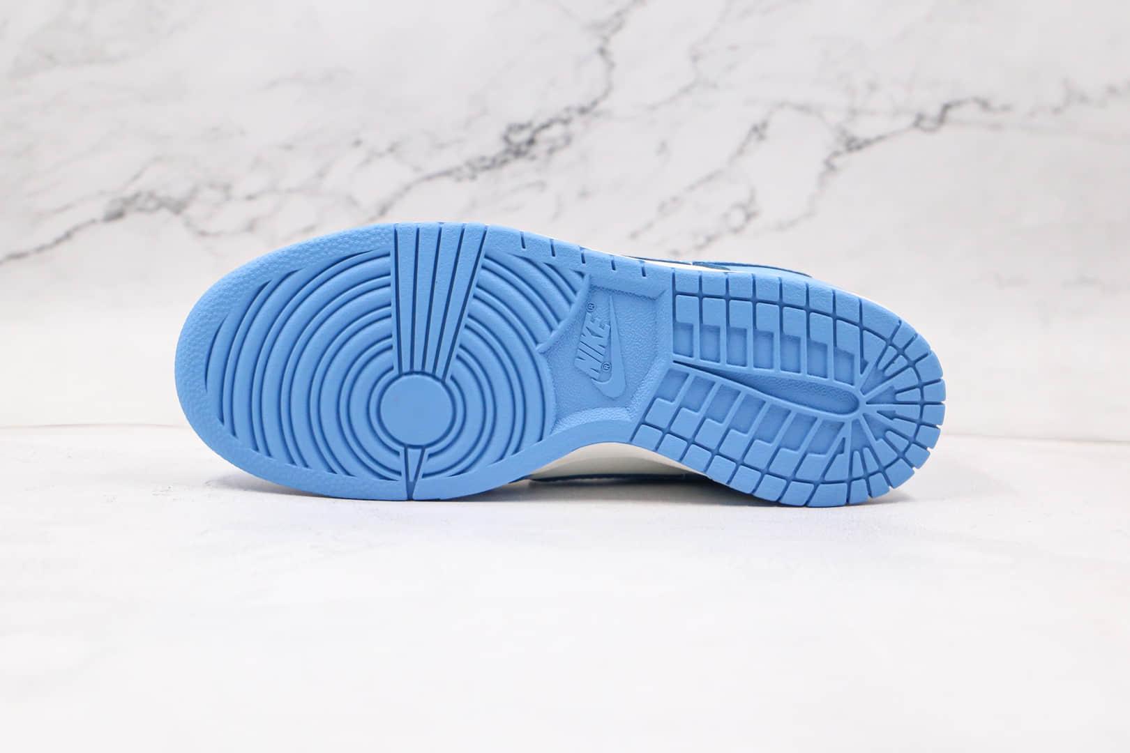耐克Nike Dunk Low纯原版本低帮DUNK北卡蓝板鞋原鞋开模一比一打造 货号:DD1503-100