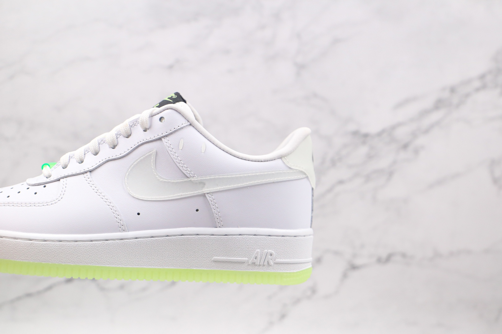 耐克Nike Air Force 1 Have A Nike Day纯原版本低帮空军一号荧光绿板鞋内置气垫原盒原标 货号:CT3228-100