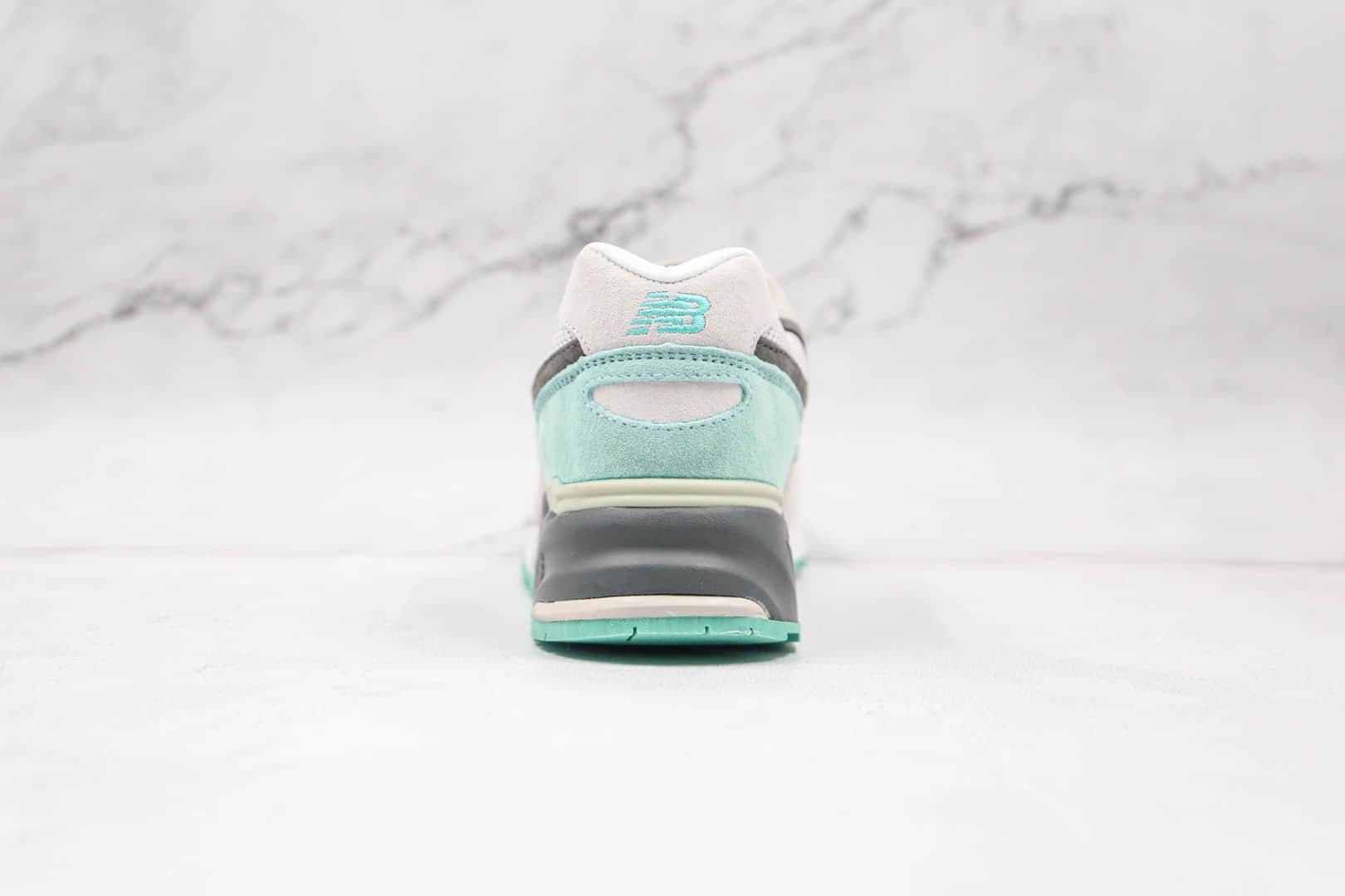 新百伦New Balance 999MG纯原版本复古慢跑鞋NB999灰青色原楦头纸板打造 货号:ML999KGM