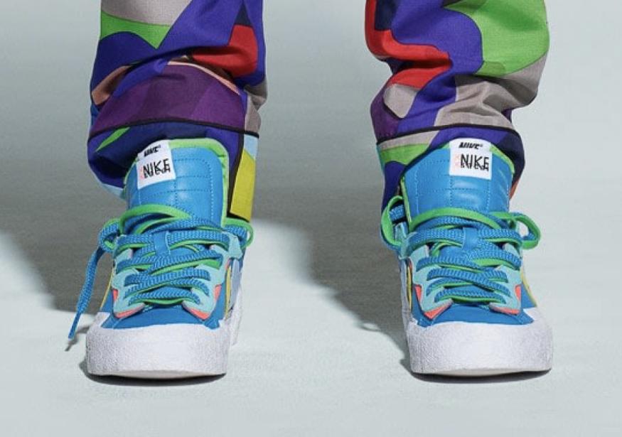 超重磅三方联名!KAWS x sacai x Nike Blazer首度曝光!