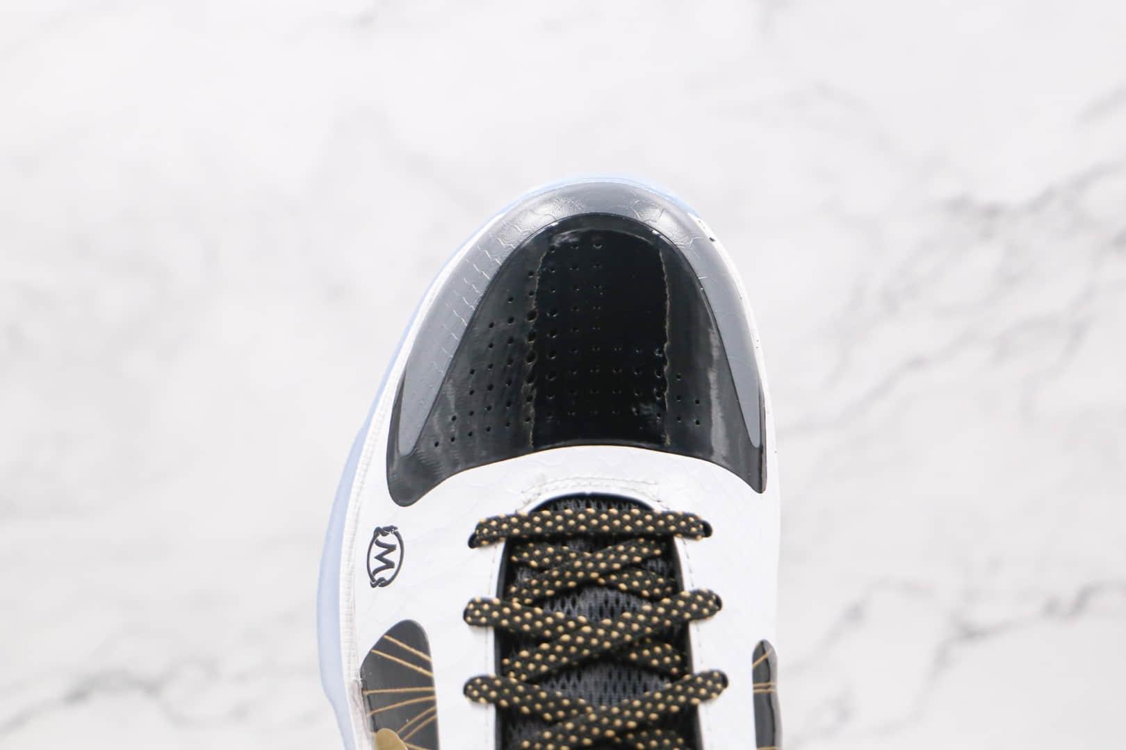 耐克Nike KOBE 5 PROTRO纯原版本科比5代塔克天使篮球鞋内置气垫支持实战 货号:CD0824-127