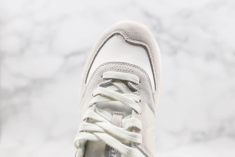 新百伦New Balance 574纯原版本复古慢跑鞋NB570白色原档案数据开发 货号:WL574WNT