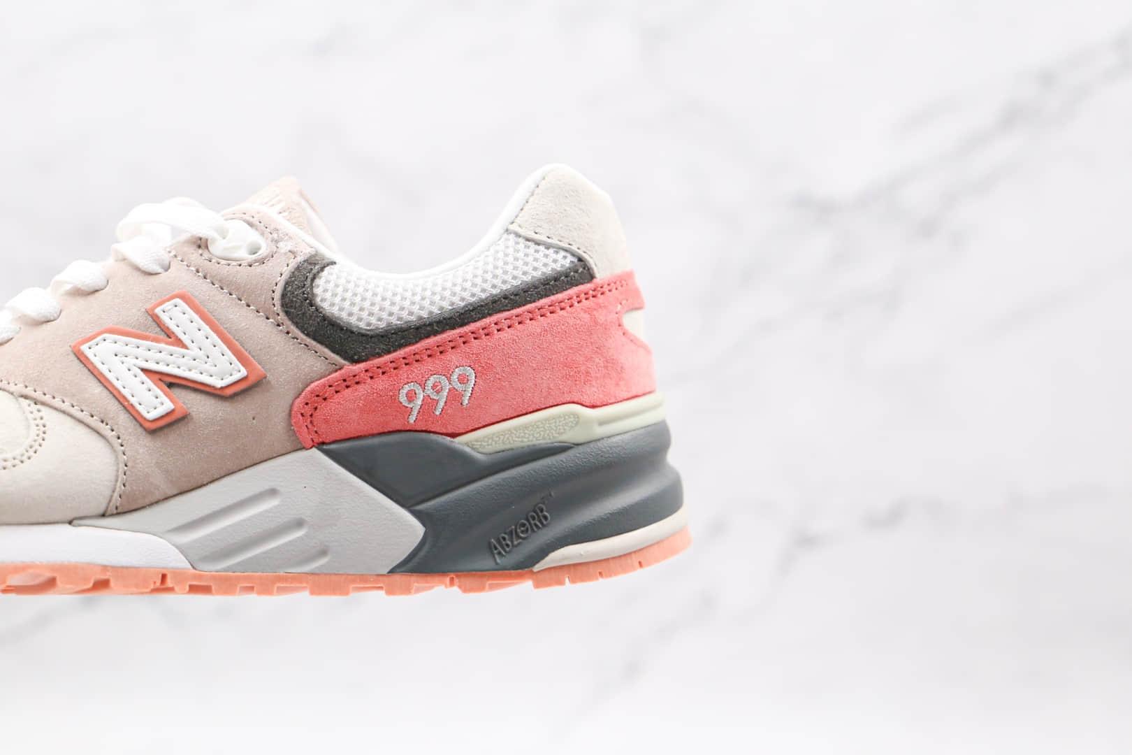 新百伦New Balance 999MG纯原版本复古慢跑鞋NB999灰橘色原盒原标 货号:ML999KGP