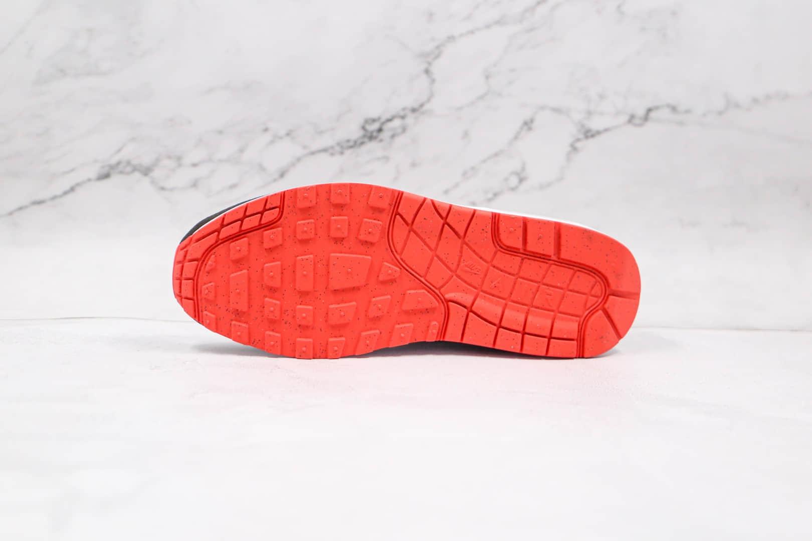 耐克Nike air max 1 white grey dark smoke纯原版本黑白黄蓝复古Max 1气垫鞋原盒原标 货号:CZ8138-100