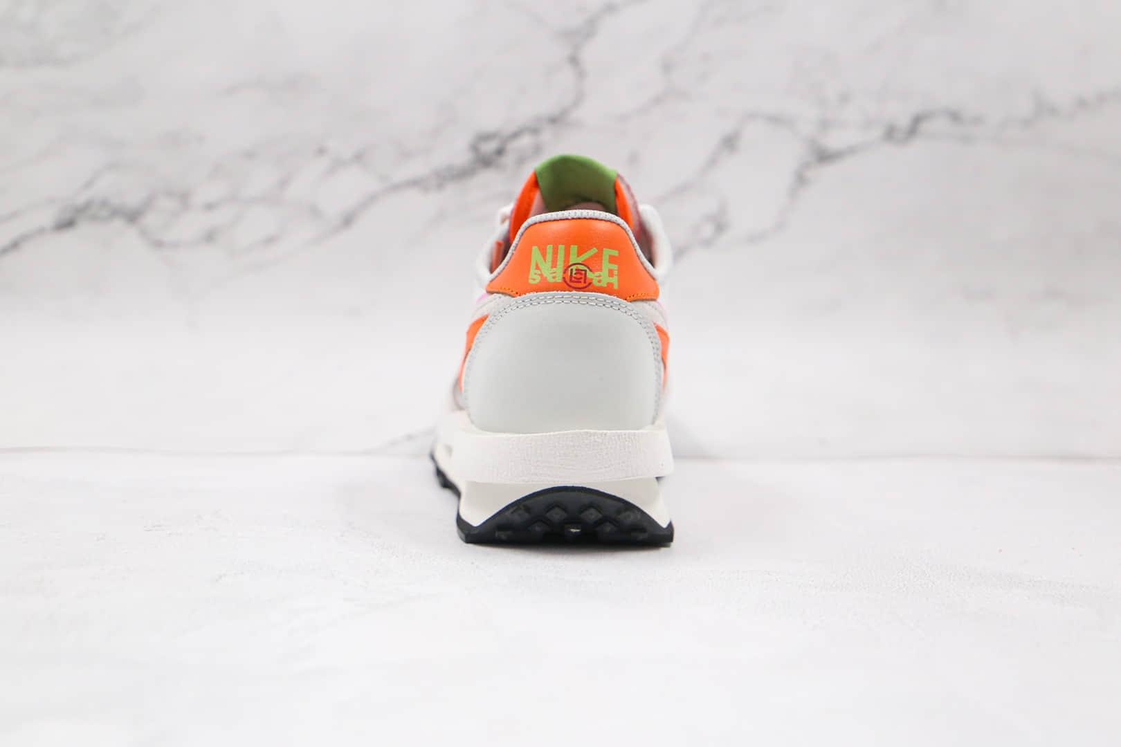 耐克NIKE LDV Waffle x Sacai联名款纯原版本华夫白橙粉解构慢跑鞋原档案数据开发原盒原标 货号:DH1347-100