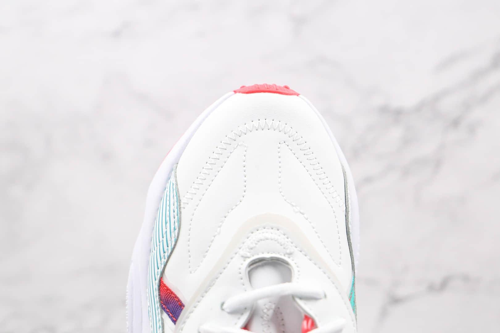 阿迪达斯Adidas OZWEEGO 2021纯原版本三叶草白红绿渐变反光水管老爹鞋原盒原标 货号:Q47190