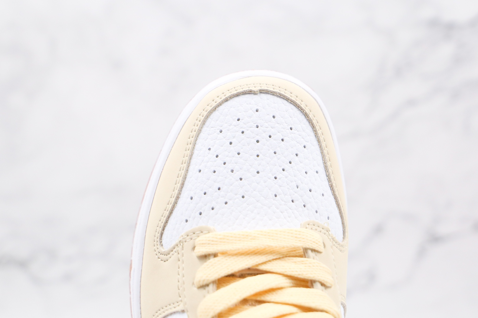 耐克Nike Dunk Low Lemon Drop纯原版本低帮DUNK柠檬米白黄板鞋原楦头纸板打造 货号:DJ6902-700