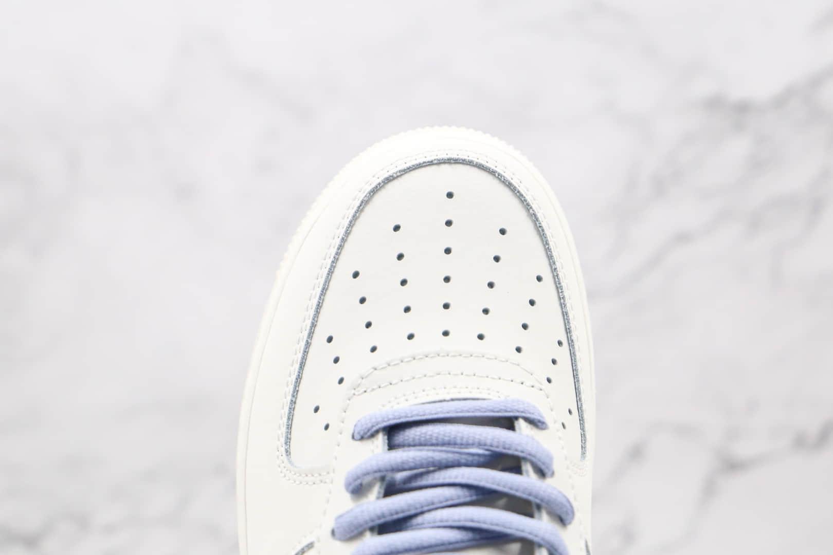 耐克Nike Air Force 1 Low Lavender纯原版本低帮空军一号白蓝薰衣草板鞋原档案数据开发 货号:CQ5059-108
