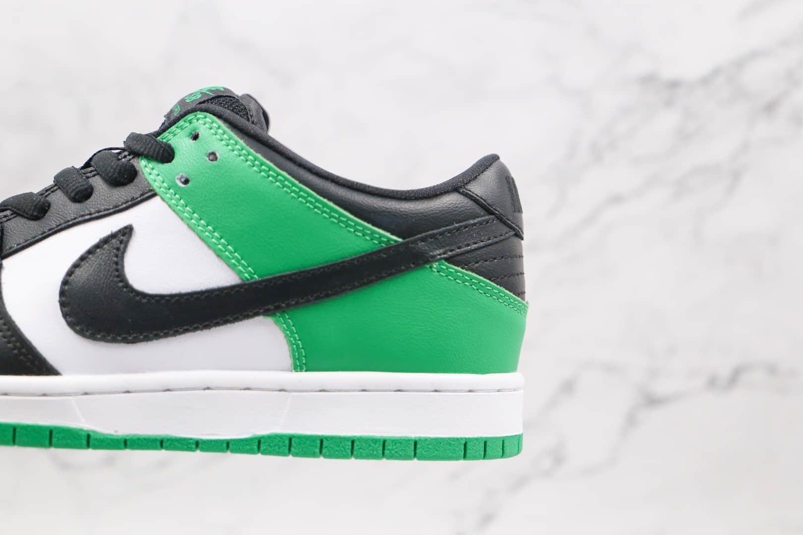 耐克Nike SB Dunk Low Court Purple纯原版本低帮SB DUNK白绿黑脚趾板鞋内置后掌Zoom气垫 货号:BQ6817-302