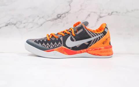 纯原版本耐克科比8代黑人月实战篮球鞋出货