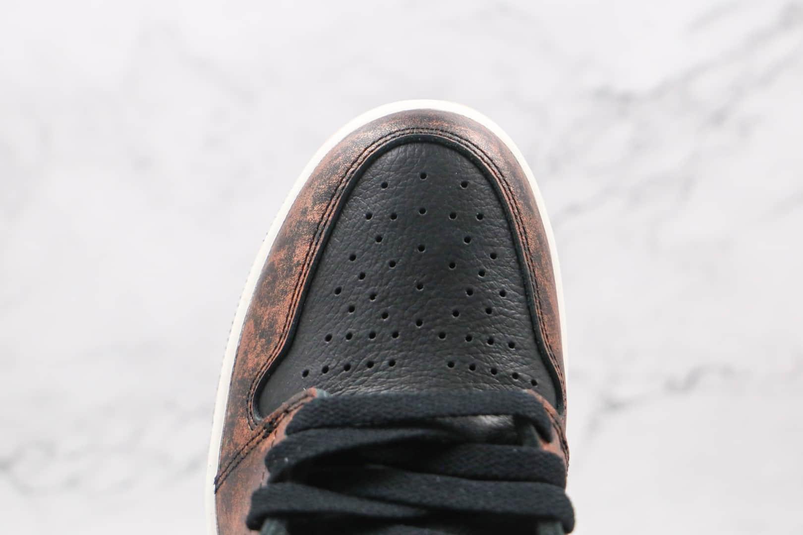 乔丹Air Jordan 1 High OG High OG Shadow纯原版本高帮AJ1做旧古铜影子灰篮球鞋原楦头纸板打造 货号:555088-033
