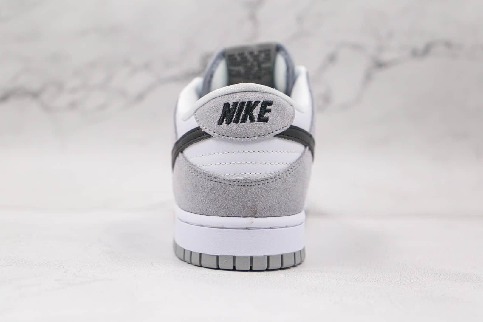 耐克NIKE SB DUNK HI DECON纯原版本低帮SB DUNK烟灰配色板鞋内置后跟Zoom气垫 货号:854866-012
