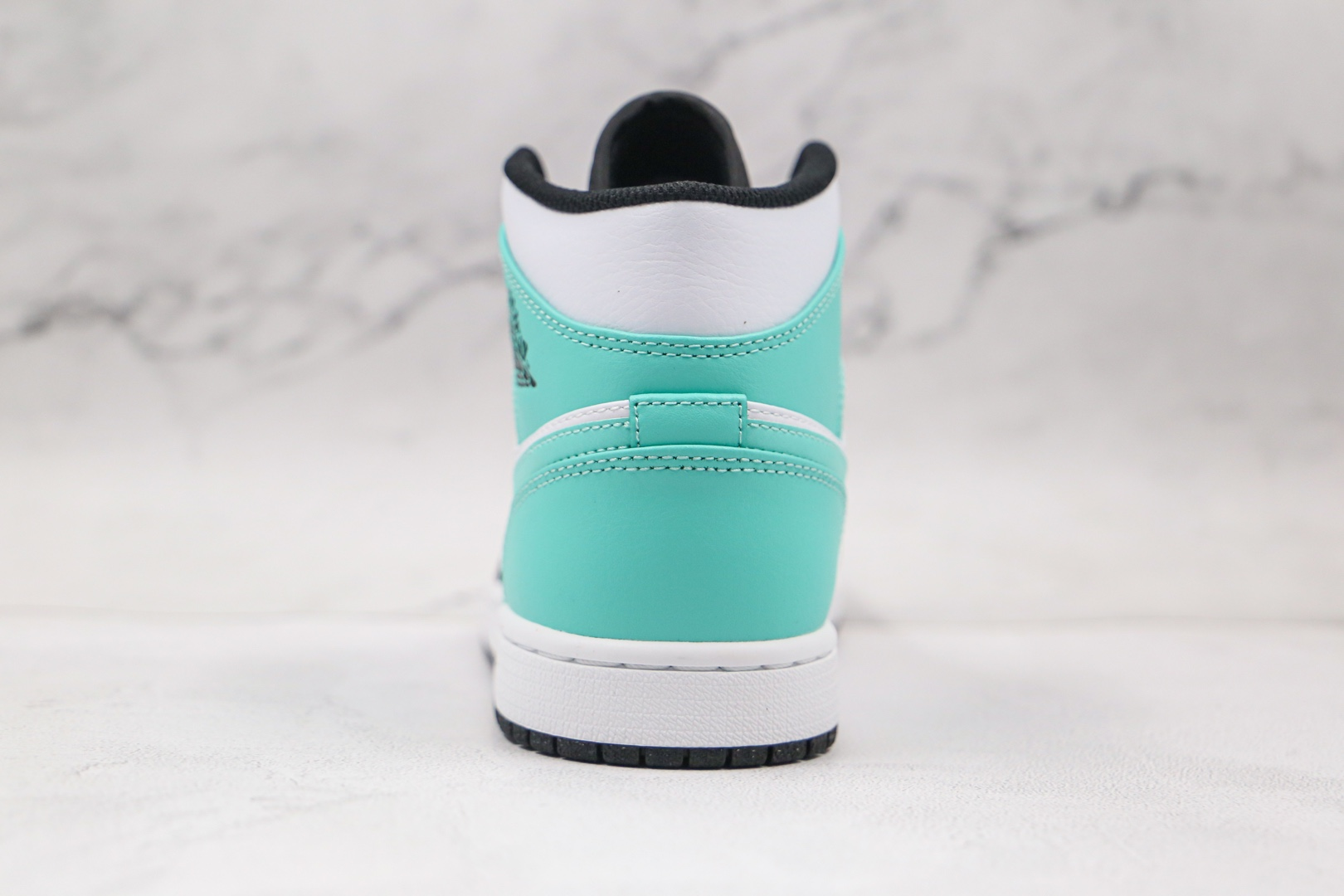 乔丹Air Jordan 1 Mid纯原版本中帮AJ1蒂芙尼绿篮球鞋原档案数据开发 货号:554724-132