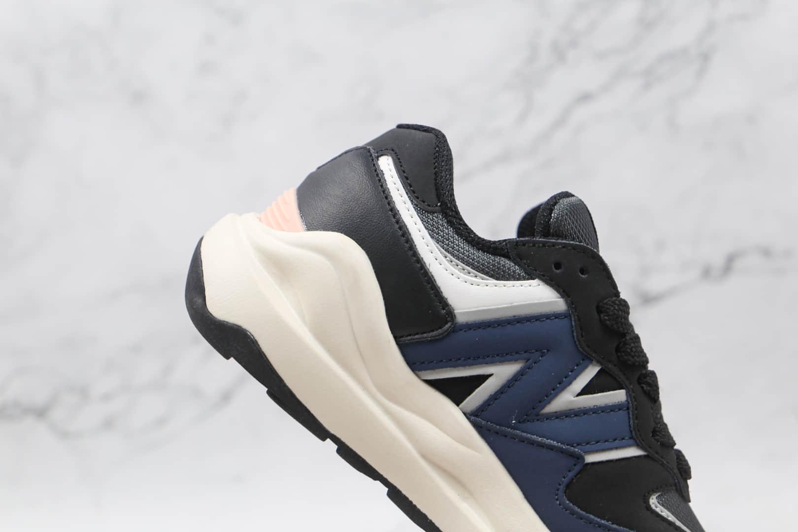 新百伦New Balance 5740纯原版本黑蓝色NB5740复古慢跑鞋原档案数据开发 货号:W5740LB