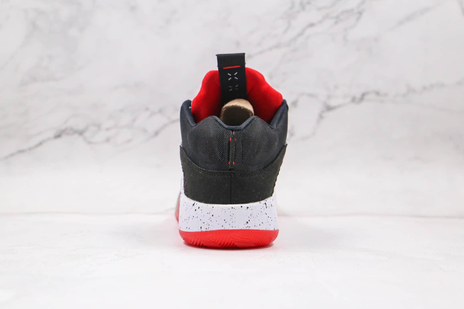 乔丹Air Jordan XXXV Sp-Tp Pf纯原版本黑白红色AJ35代篮球鞋内置Zoom气垫支持实战 货号:CQ4227-030