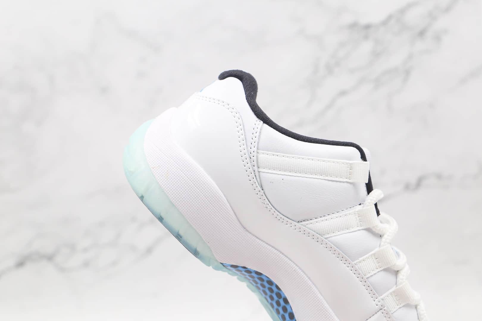 乔丹Air Jordan 11 Low Legend Blue纯原版本低帮AJ11传奇蓝配色篮球鞋内置碳板气垫支持实战 货号:AV2187-117