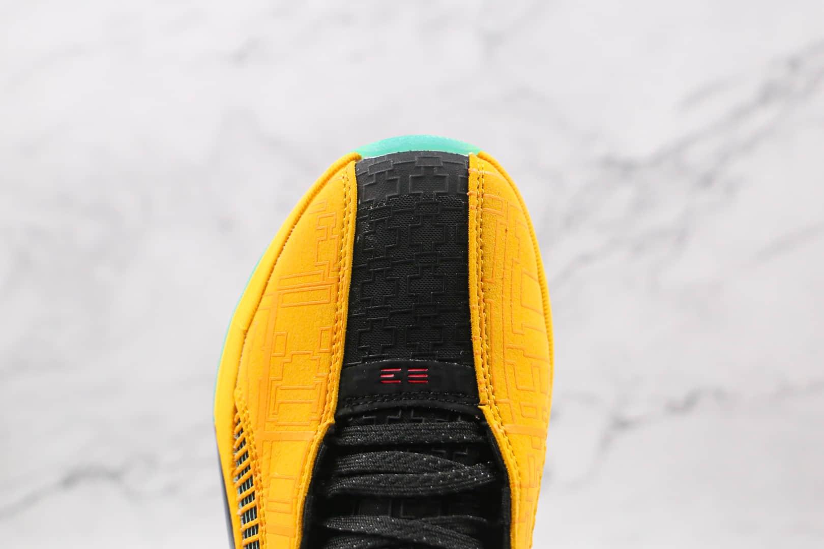 乔丹Air Jordan 35 FC PF Dynasties纯原版本紫金黑黄AJ35篮球鞋原档案数据开发原盒原标 货号:DD3044-700