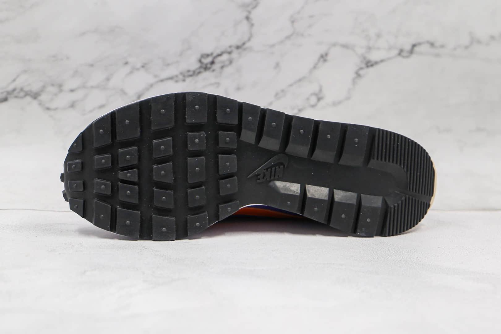 耐克Nike VaporWaffle x sacai纯原版本华夫三代紫金复古老爹鞋原楦头纸板打造 货号:DD1875-500