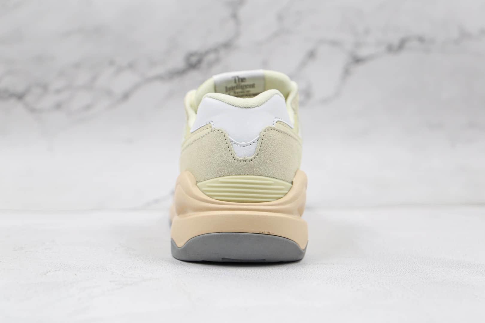 新百伦New Balance 5740纯原版本复古慢跑鞋NB5740米黄色老爹鞋原楦头纸板打造 货号:W5740CE