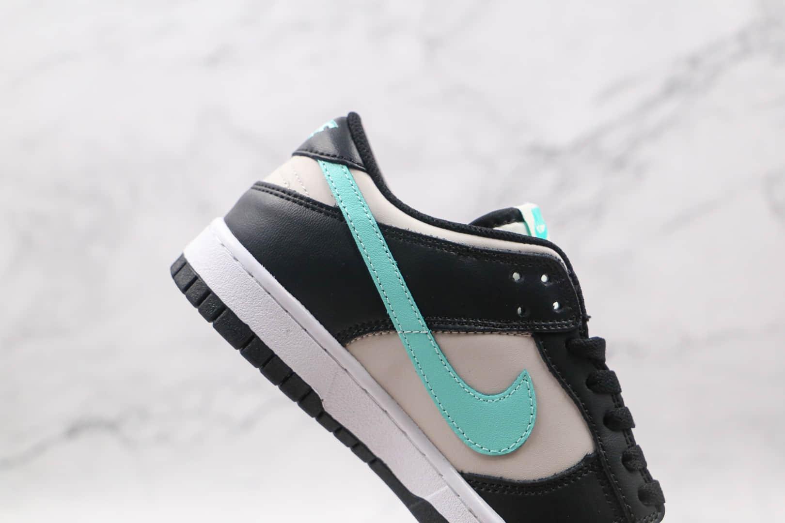 耐克Nike SB Dunk Low纯原版本低帮SB DUNK灰黑蓝色板鞋内置气垫 货号:CW1590-003