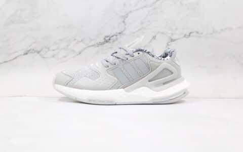 阿迪达斯Adidas Day Jogger 2021 Boost纯原版本夜行者二代灰色满天星爆米花跑鞋原楦头纸板打造 货号:FW4829