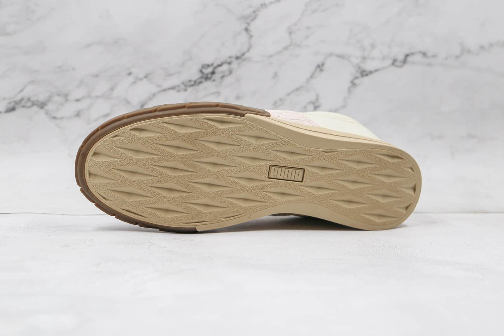 彪马Puma Eris Reptile纯原版本米白绿休闲板鞋原楦头纸板打造原盒原标