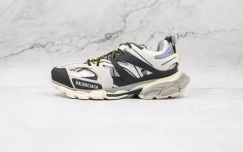 巴黎世家Balenciaga Track纯原版本三代黑白色复古老爹鞋原盒配件齐全原档案数据开发