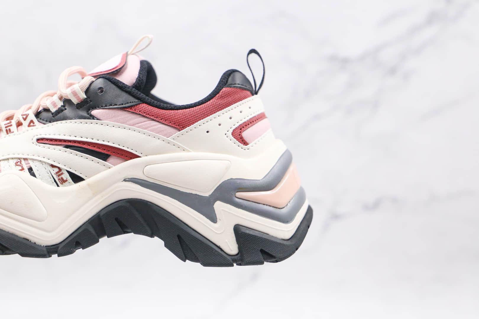 斐乐FILA Interation公司级版本鱼刺2代粉紫蓝老爹鞋原档案数据开发