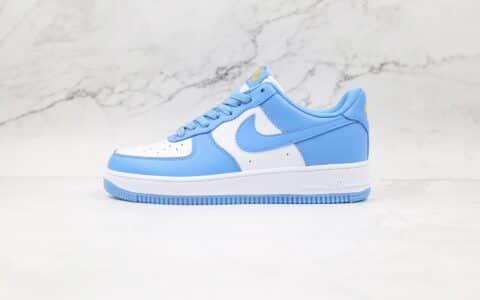 耐克Nike AIR FMRCE 1纯原版本低帮空军一号北卡蓝板鞋内置气垫原盒原标 货号:CT1989-441