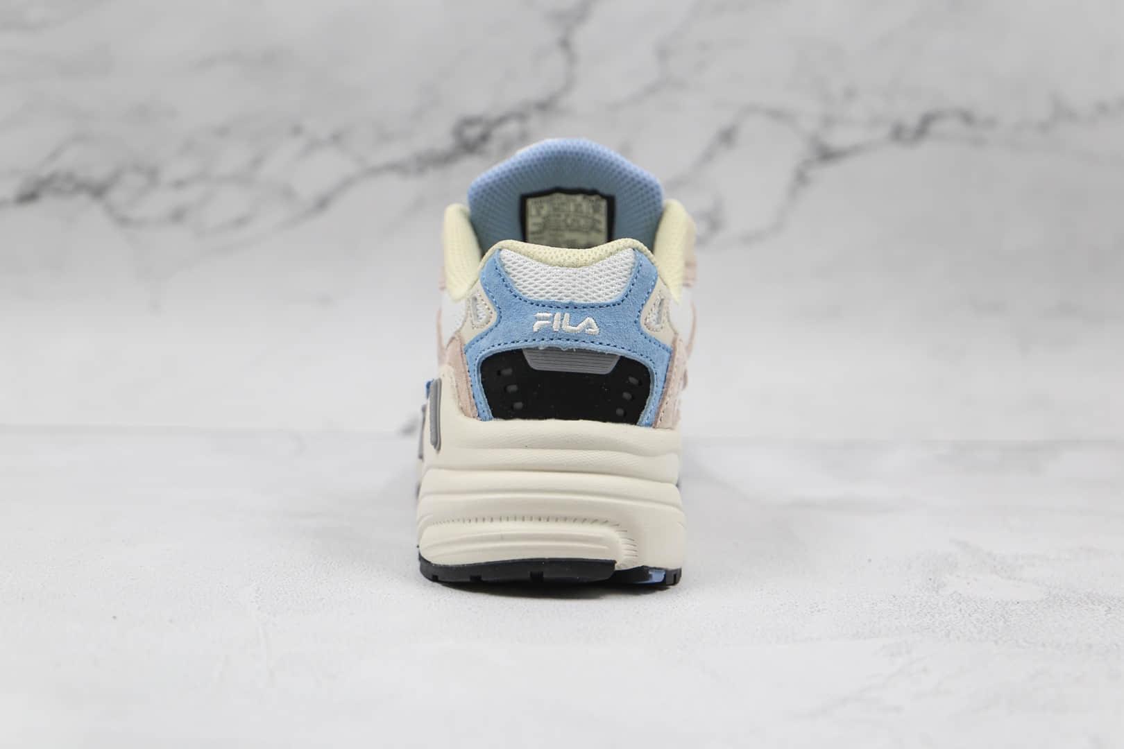 斐乐FILA低帮微白复古老爹鞋纯原版本原盒配件齐全原档案数据开发