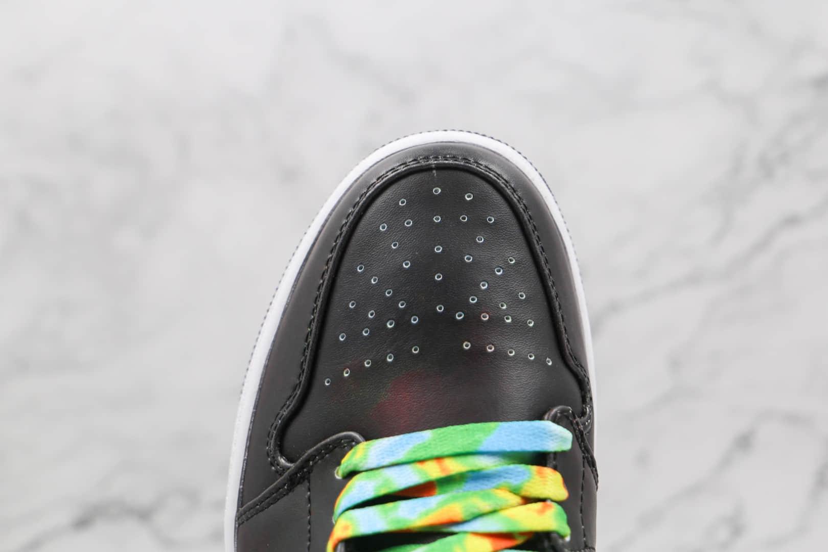 乔丹Air Jordan 1 Low纯原版本低帮AJ1热成像变色龙板鞋原楦头纸板打造 货号:553558-000