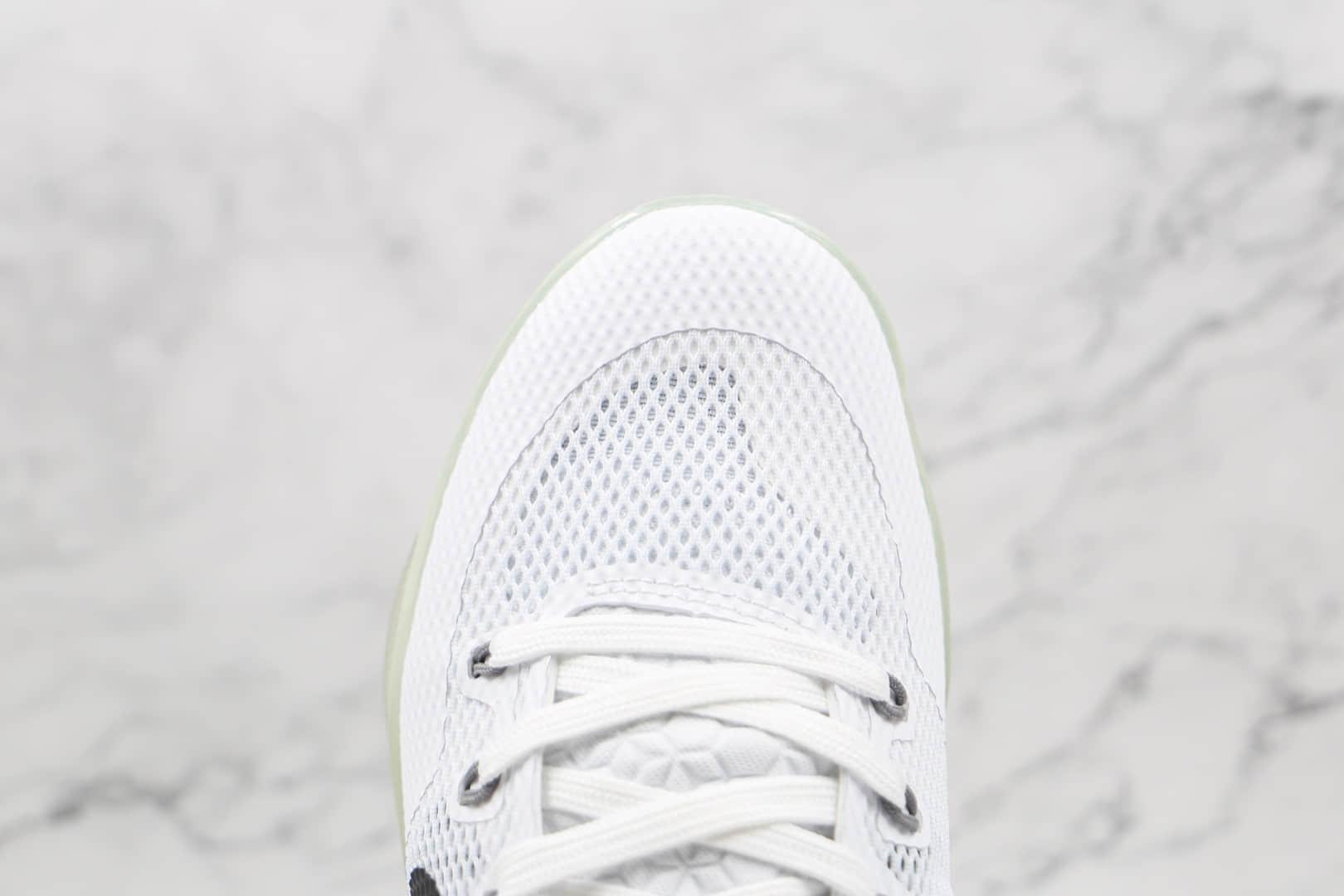 耐克Nike Kobe 11 EM纯原版本科比11代贝多芬白黑色篮球鞋原盒原标支持实战 货号:836184-100