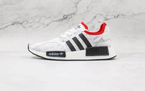 阿迪达斯adidas Originals NMD_R1 Suede Grey Black Bule纯原版本三叶草爆米花NMD黑白红色跑鞋原档案数据开发 货号:FV3874