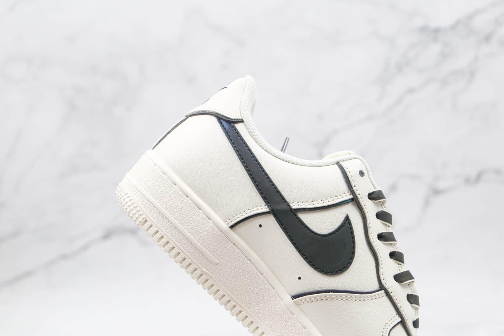耐克Nike Air Force 1 '07纯原版本低帮空军一号镭射白紫3M反光板鞋内置气垫 货号:BQ0086-365