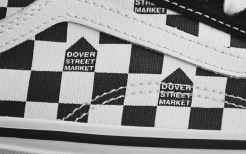 简约黑白棋盘格!DSM x Vans全新联名现已发售!学生党别错过!