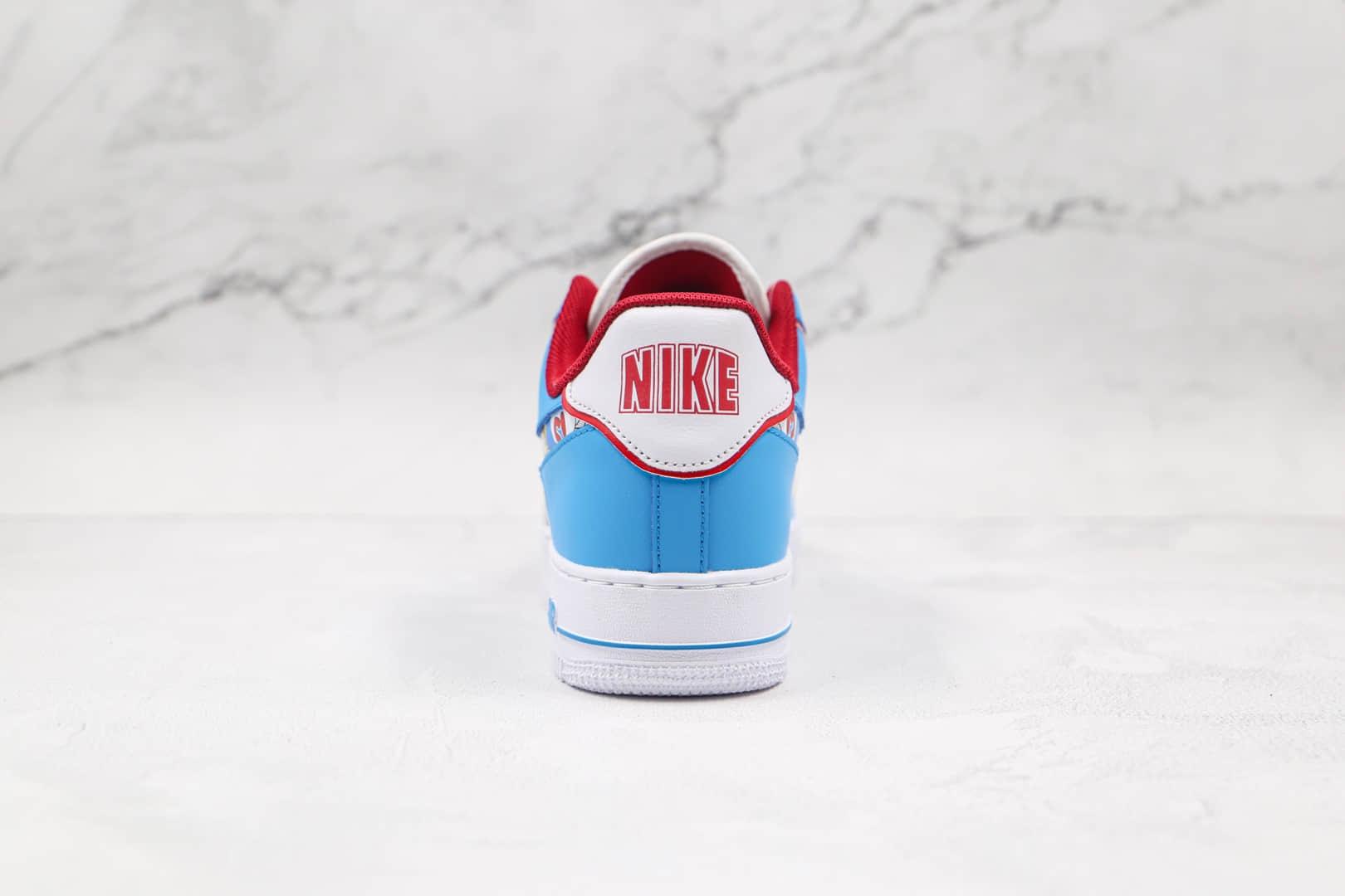 耐克Nike Air Force 1 Low x Doraemon纯原版本低帮空军一号哆啦A梦叮当猫联名款板鞋原盒原标 货号:BQ8988-106
