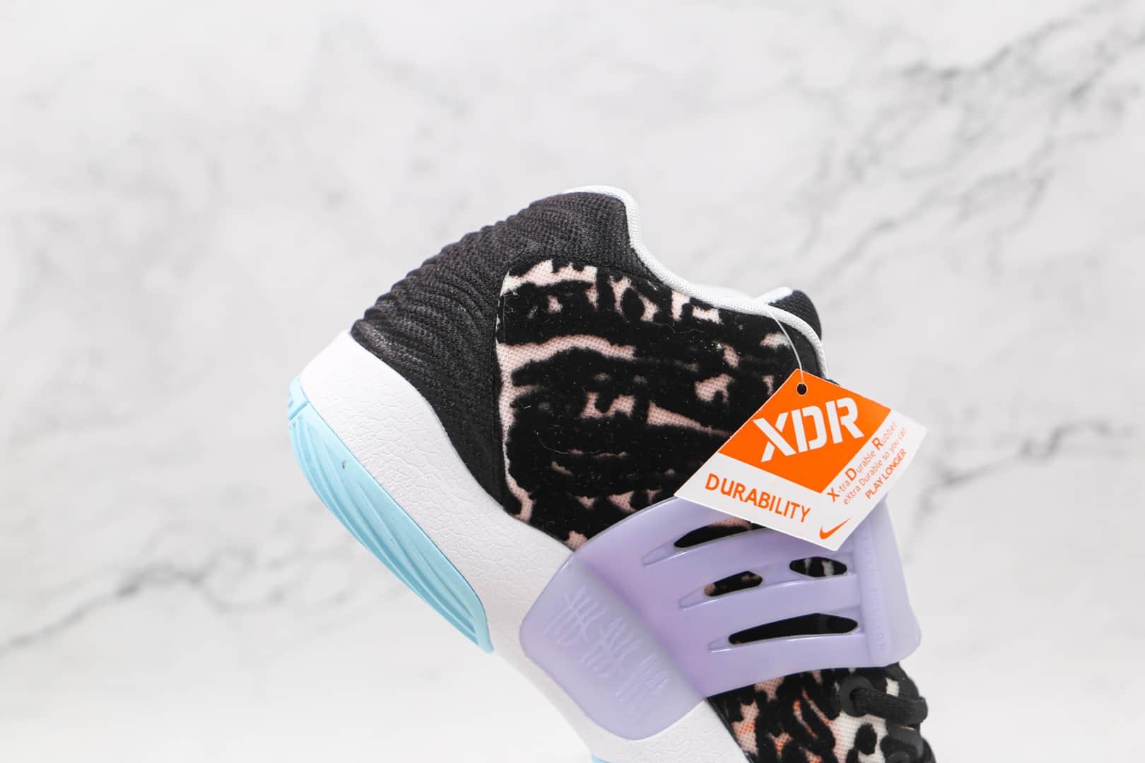耐克Nike Zoom KD 14纯原版本杜兰特14代黑白色篮球鞋内置气垫支持实战 货号:CZ0170-001