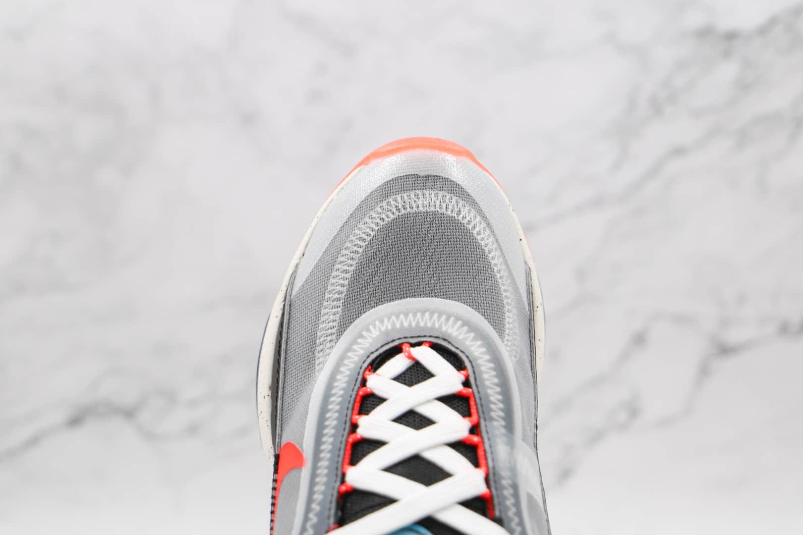 耐克Nike Air Max 90纯原版本网面彩虹Max2090波点灰黑粉色气垫鞋原楦头纸板打造 货号:DD8497-160
