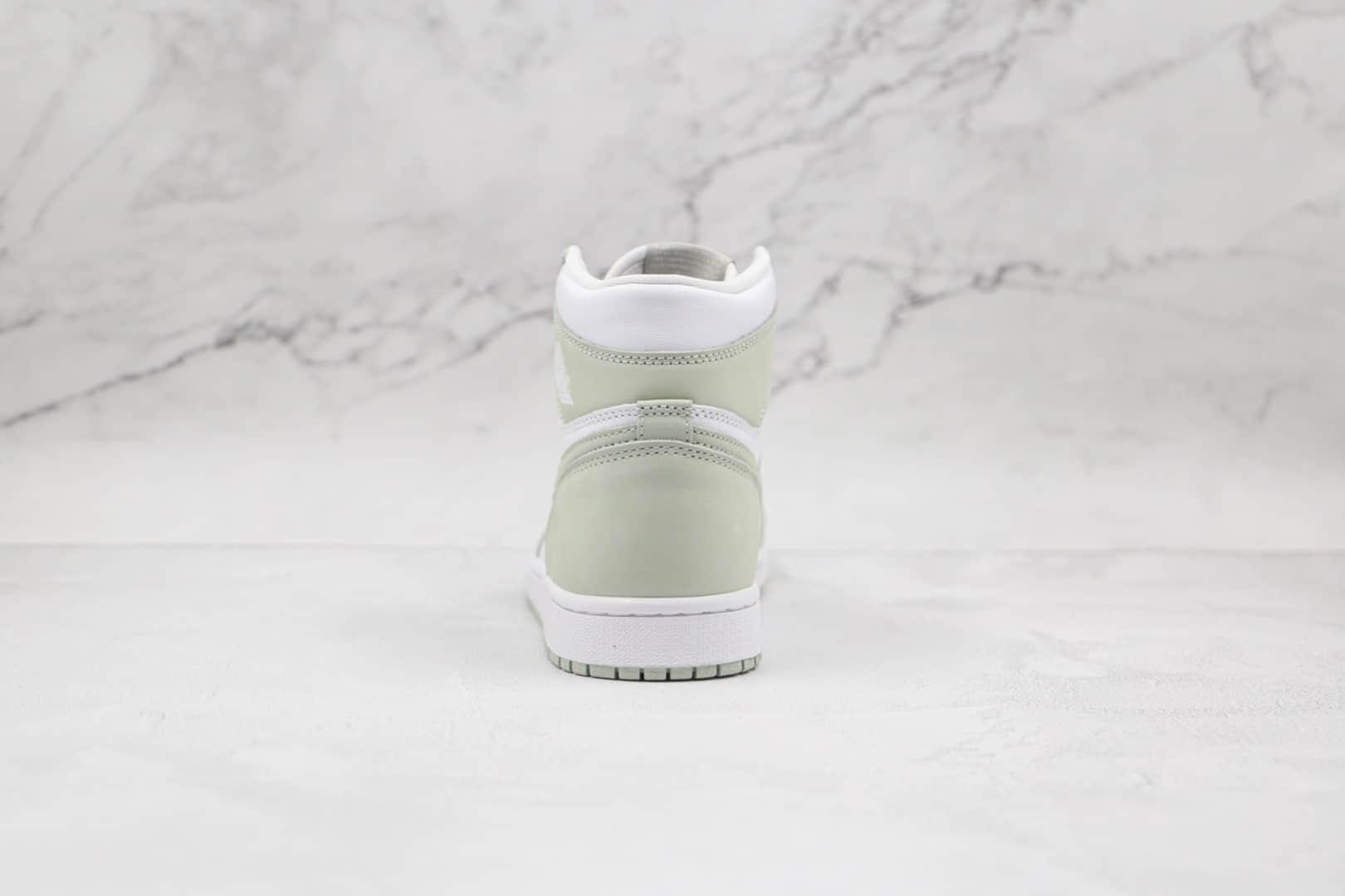 乔丹Air Jordan 1 High OG Seafoam纯原版本高帮AJ1抹茶薄荷绿板鞋原档案数据开发 货号:CD0461-002