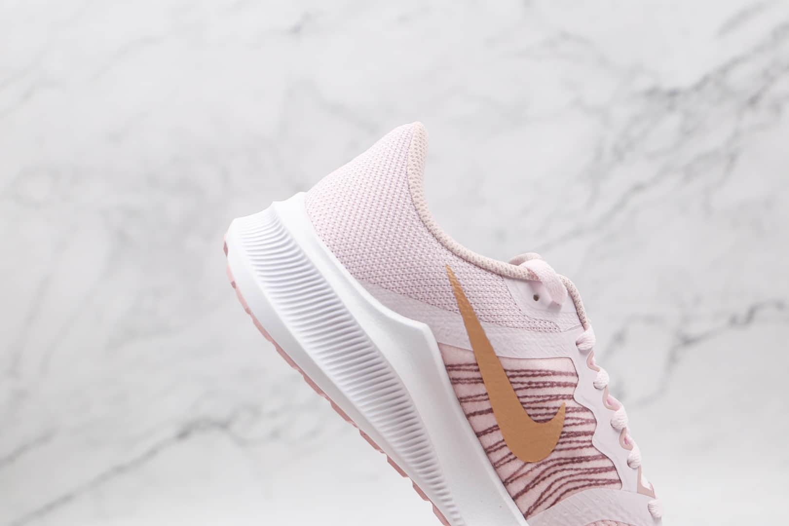 耐克NIKE DOWNSHFTER 11纯原版本登月11代粉色女子跑步鞋原楦头纸板打造 货号:CW3413-500