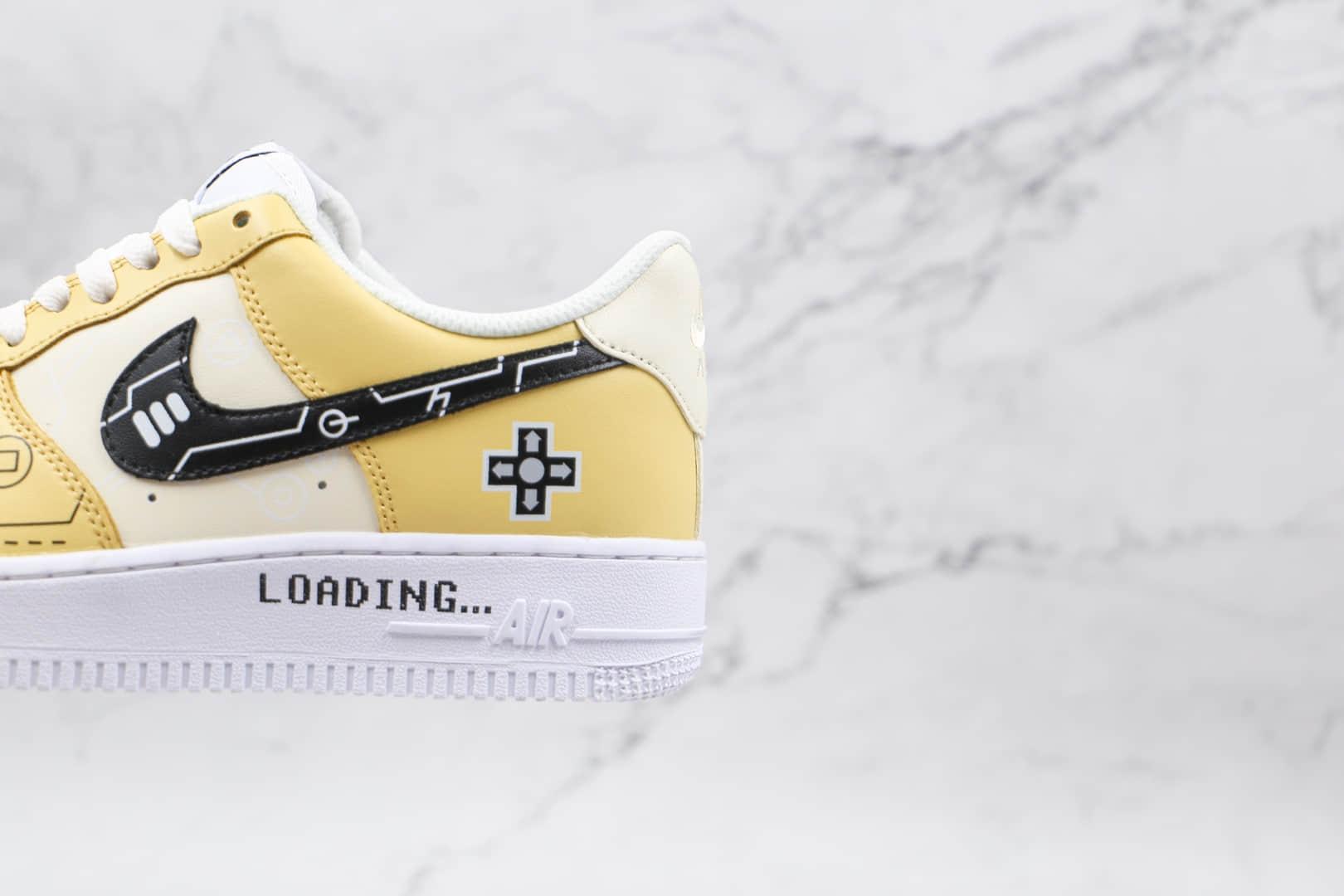 耐克Nike Air Force 1 Low 07纯原版本低帮空军一号电玩柠檬黄板鞋原楦头纸板打造 货号:CW2288-113