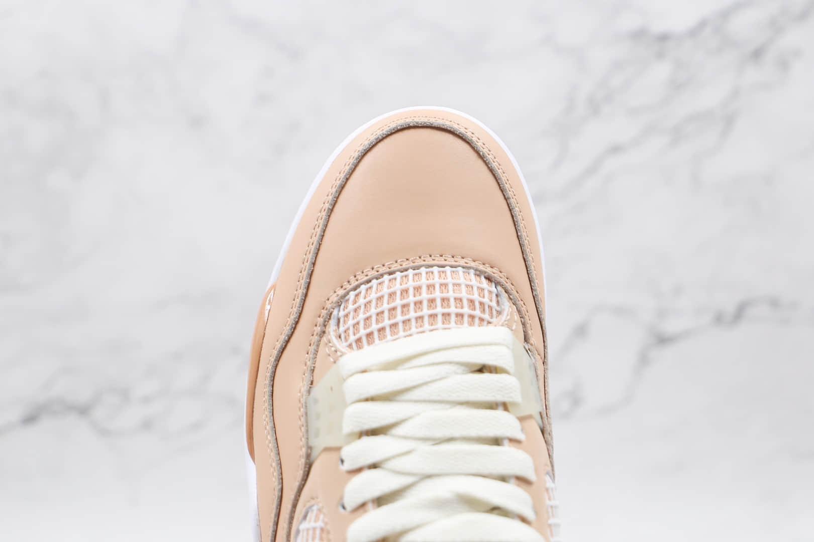 乔丹Air Jordan 4 Shimmer纯原版本浅卡其色AJ4篮球鞋原档案数据开发 货号:DJ0675-200