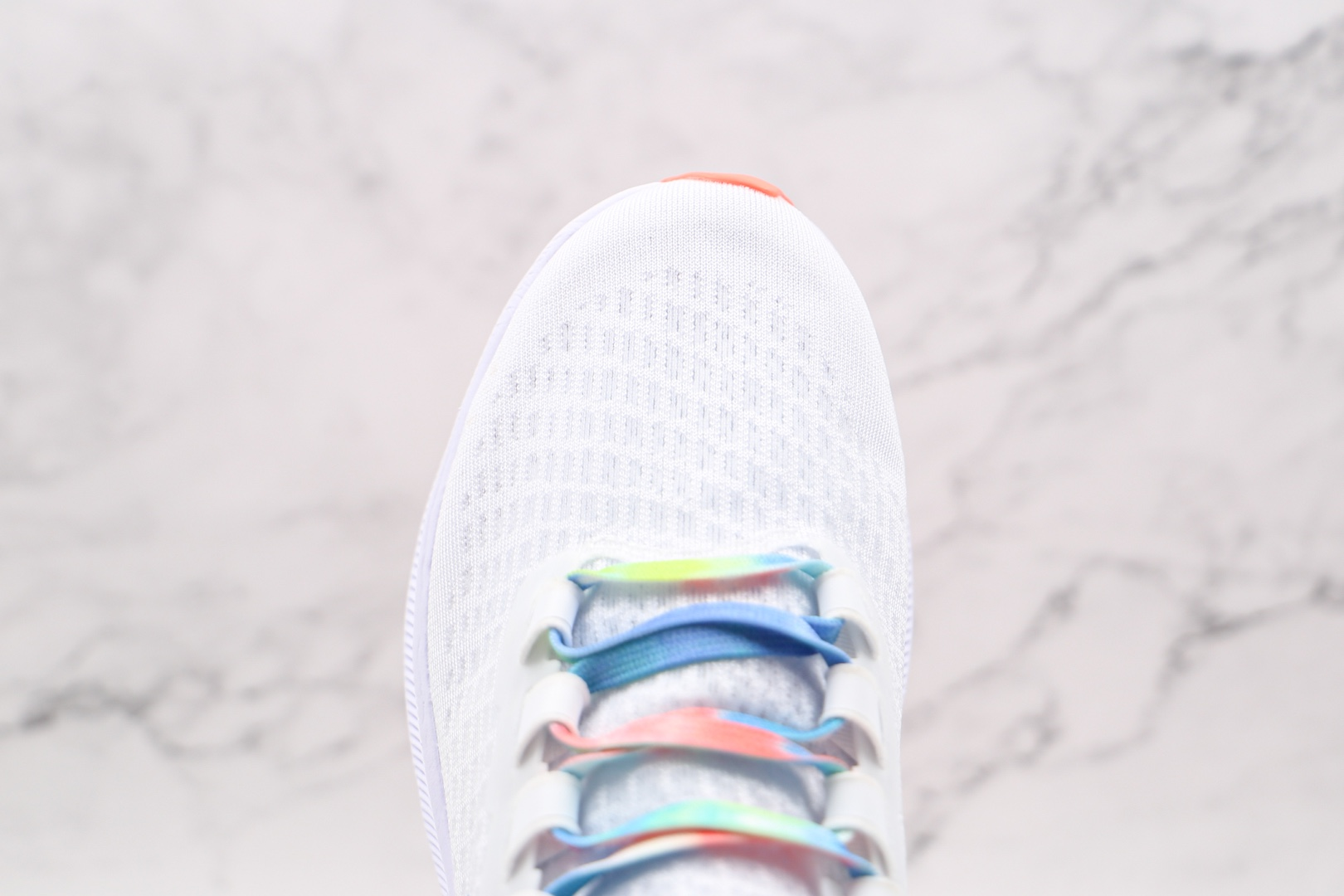 耐克NIKE AIR ZOOM PEGASUS 7X纯原版本登月7代白色彩虹钩马拉松跑步鞋原盒原标 货号:DD9667-100