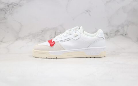 阿迪达斯Adidas Rivalry Low纯原版本三叶草帆布白红色板鞋原档案数据开发 货号:EF6418