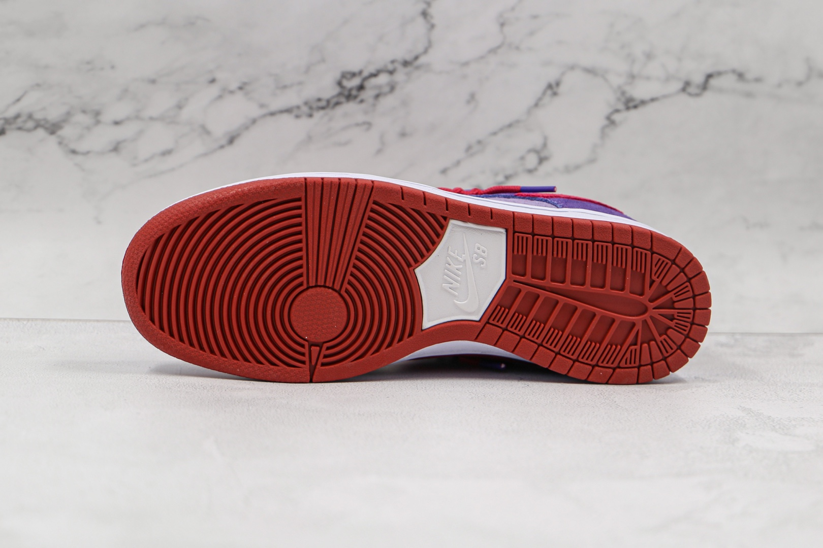 耐克Nike Dunk Low Plum纯原版本低帮OW联名款SB DUNK树莓紫板鞋原楦头纸板打造 货号:BQ6817-100
