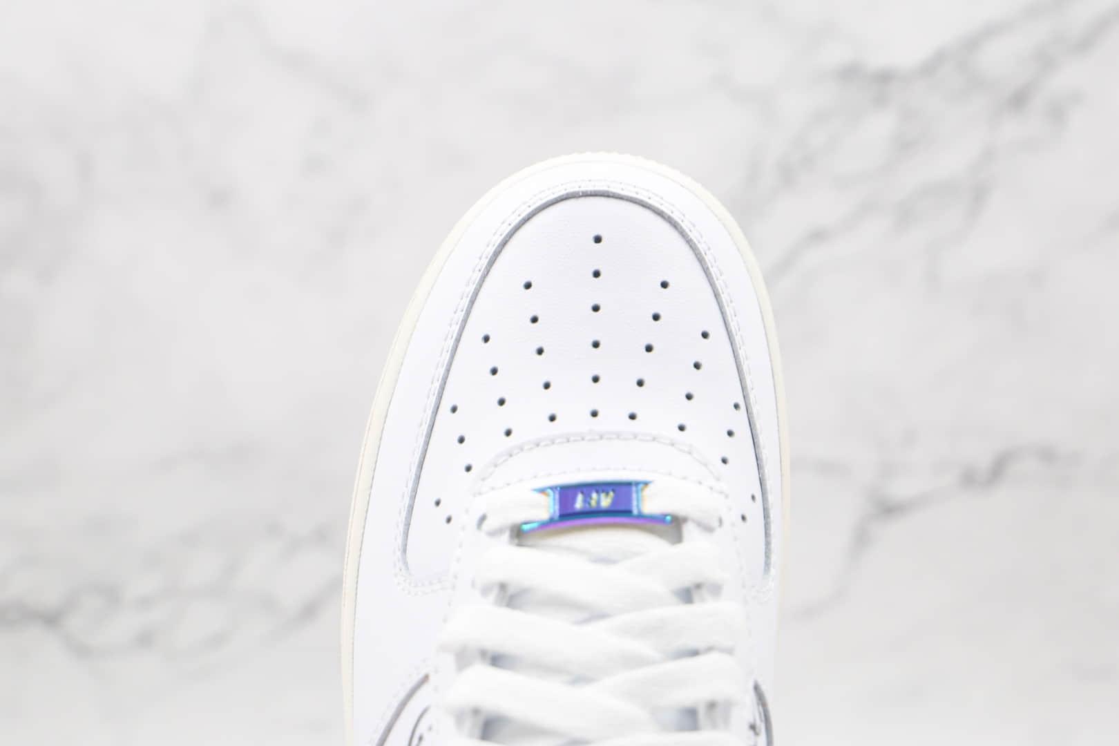 耐克Nike Air Force 1纯原版本空军一号板鞋低帮AF1大团结白黑涂鸦原楦头原纸板打造 货号:DM5447-111