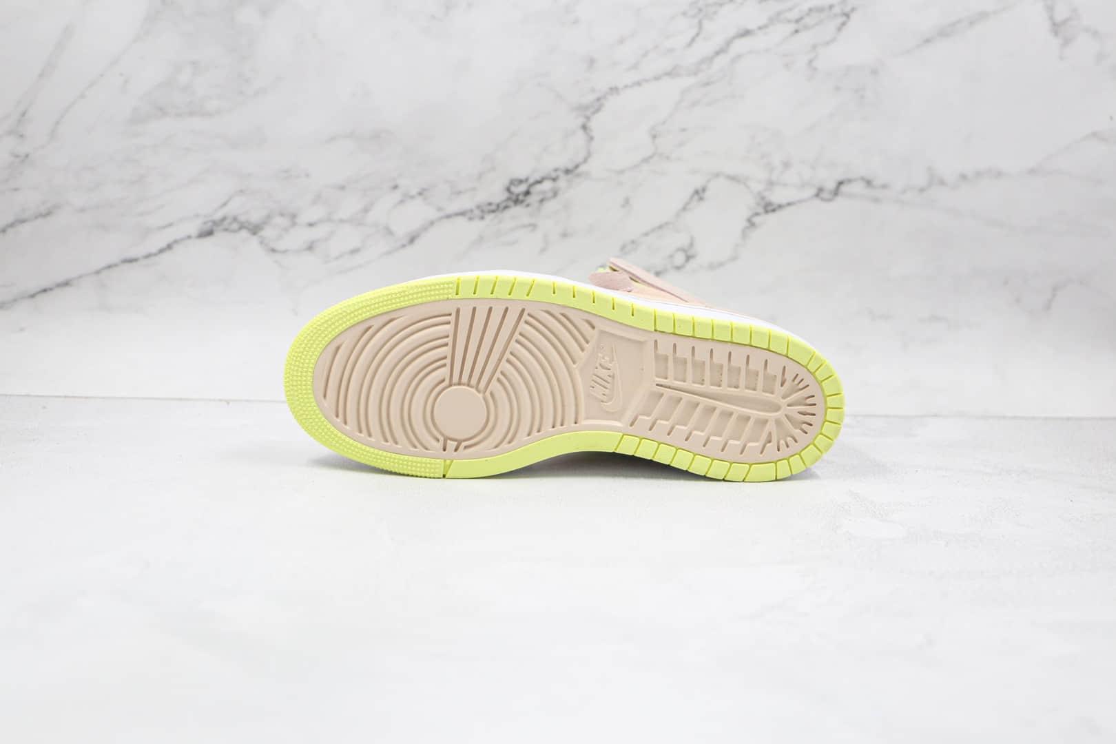"""乔丹Air Jordan 1 Zoom CMFT """"Lemon Twist""""OG纯原版本高帮AJ1柠檬汁内置缓震ZOOM气垫 货号:CT0979-200"""